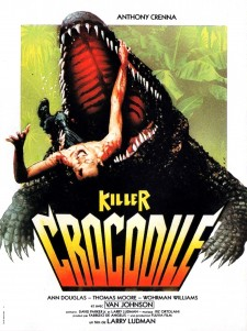 Affiche du film Killer Crocodile