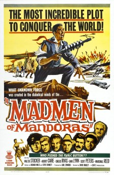 Affiche du film The Madmen of Mandoras