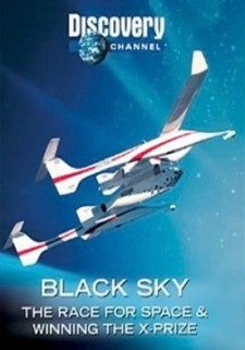 Affiche du film Black Sky: The Race for Space