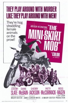Affiche du film The Mini-Skirt Mob