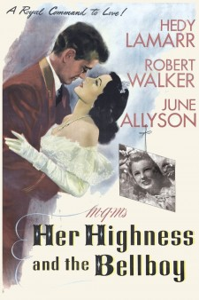 Affiche du film Her Highness and the Bellboy