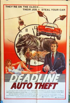 Affiche du film Deadline Auto Theft