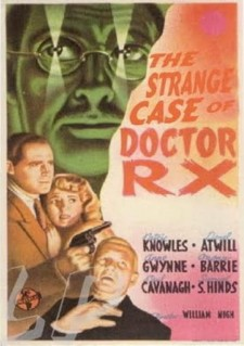 Affiche du film The Strange Case of Doctor Rx