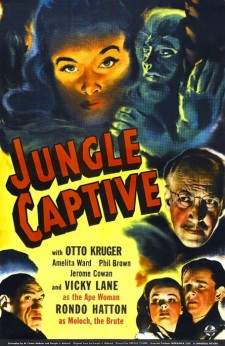Affiche du film Jungle Captive