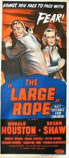 Affiche du film The Long Rope