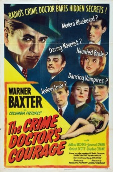 Affiche du film The Crime Doctor's Courage