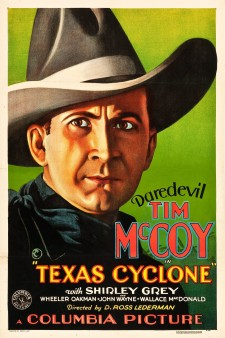Affiche du film Texas Cyclone