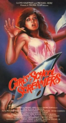 Affiche du film Girls School Screamers