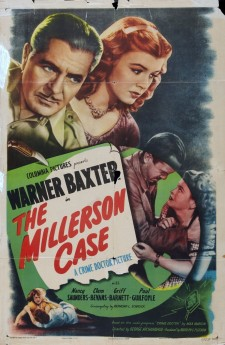 Affiche du film The Millerson Case