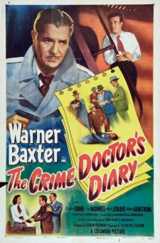 Affiche du film The Crime Doctor's Diary