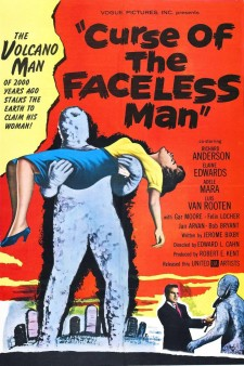 Affiche du film Curse of the Faceless Man