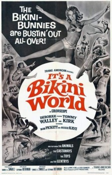 Affiche du film It's a Bikini World