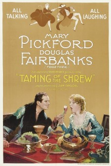 Affiche du film The Taming of the Shrew