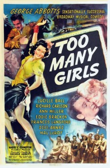 Affiche du film Too Many Girls