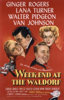 Affiche du film Week-End at the Waldorf