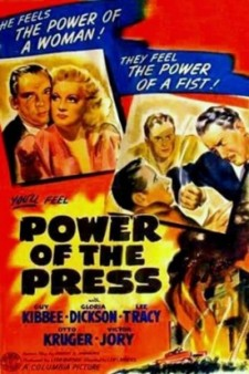 affiche du film Power of the Press