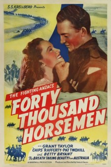 Affiche du film Forty Thousand Horsemen