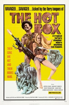 affiche du film The Hot Box