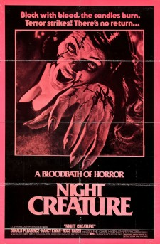 Affiche du film Night Creature
