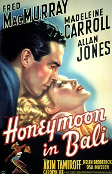 affiche du film Honeymoon in Bali