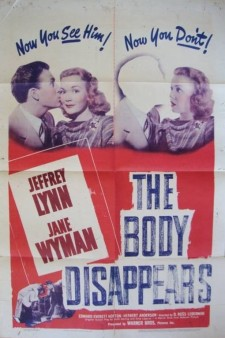 Affiche du film The Body Disappears