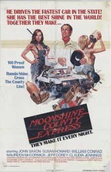 Affiche du film Moonshine County Express
