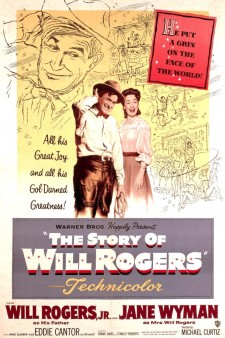 Affiche du film The Story of Will Rogers
