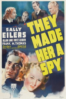 Affiche du film They Made Her a Spy