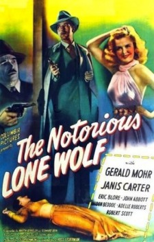 Affiche du film The Notorious Lone Wolf