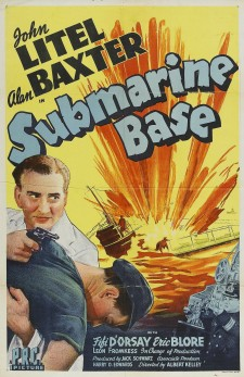 Affiche du film Submarine Base