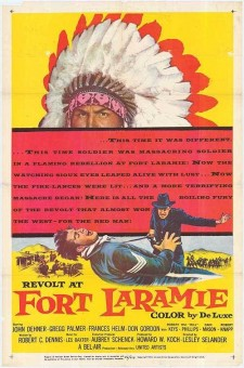affiche du film Revolt at Fort Laramie