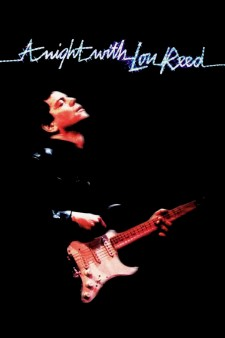 Affiche du film A Night with Lou Reed