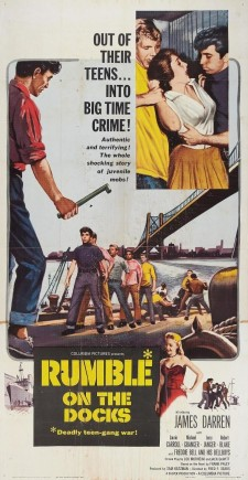 affiche du film Rumble on the Docks