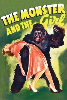 Affiche du film The Monster and The Girl