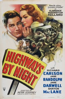 Affiche du film Highways by Night