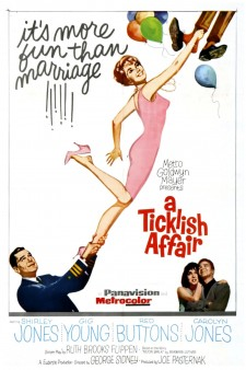 Affiche du film A Ticklish Affair
