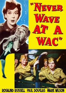 Affiche du film Never Wave at a WAC