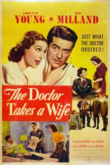 Affiche du film The Doctor Takes a Wife
