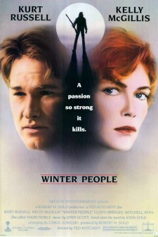 Affiche du film Winter people