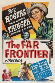Affiche du film The Far Frontier