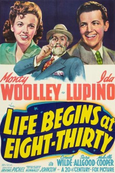 Affiche du film Life Begins at Eight-Thirty
