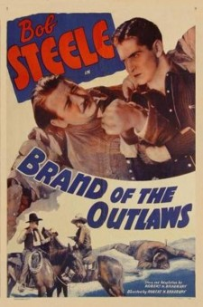 affiche du film Brand of the Outlaws
