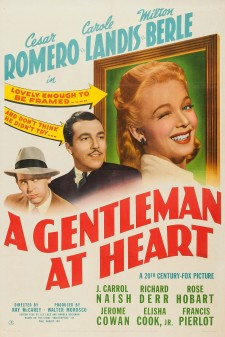 Affiche du film A Gentleman At Heart
