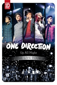 Affiche du film One Direction: Up All Night - The Live Tour