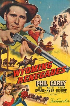 affiche du film Wyoming Renegades