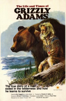 affiche du film The Life and Times of Grizzly Adams