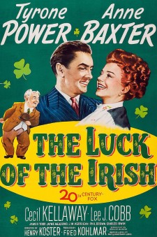 affiche du film The Luck of the Irish