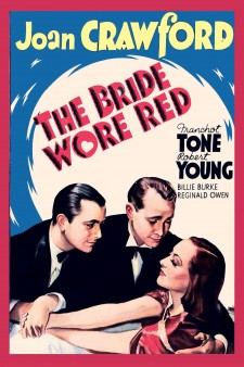 Affiche du film The Bride Wore Red