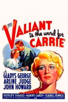 Affiche du film Valiant Is the Word for Carrie