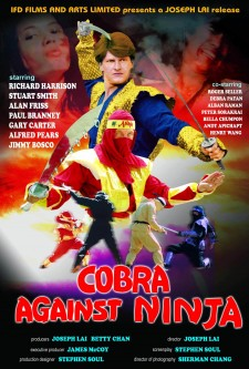 Affiche du film Cobra vs. Ninja